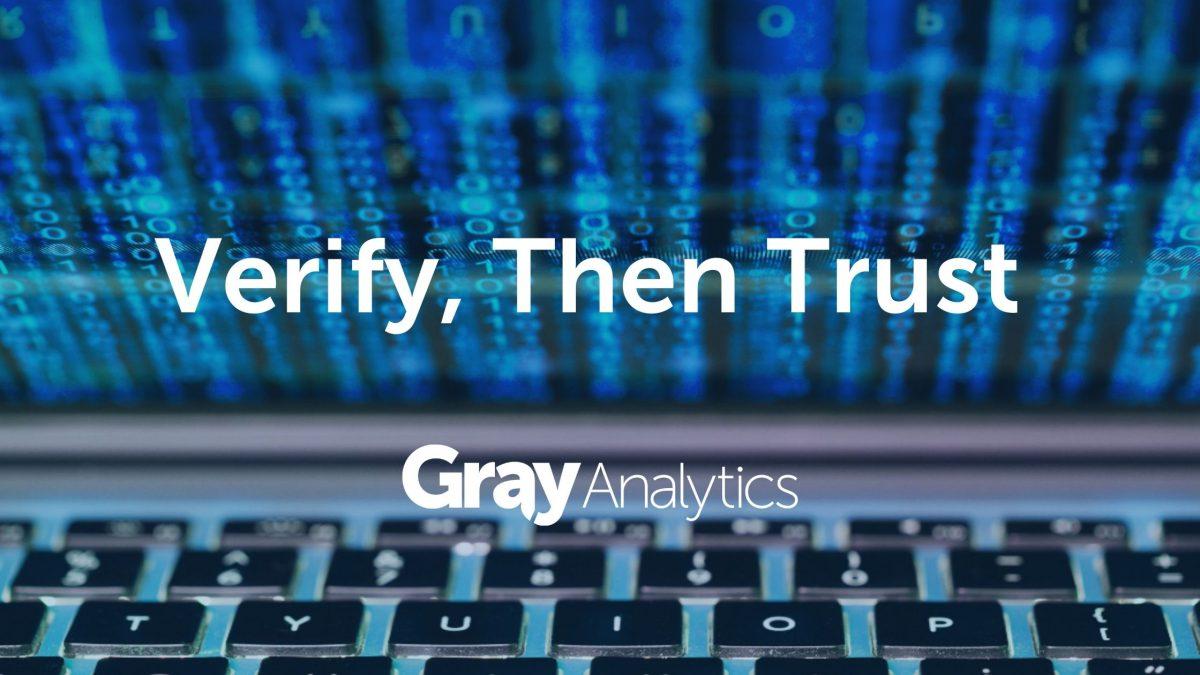 Verify Then Trust