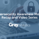 Cybersecurity Awareness Month Recap and Video Series